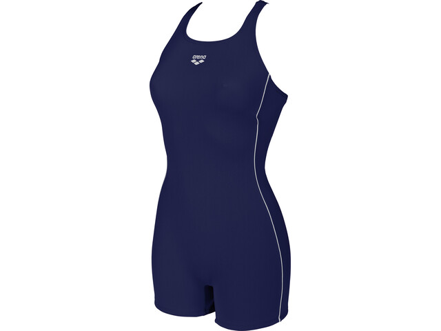 arena Finding HL One Piece Swimsuit Dame navy-white